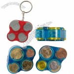 Monnibox - Euro Box Coin Holder Keychain