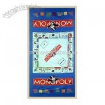 Monopoly Game Beach Towel