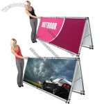 Monsoon Outdoor A-Frame Banner Stand