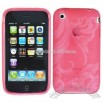 Morning Glory Crystal Silicon Skin Case for iPhone 3G/ 3GS