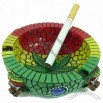 Mosaic Rasta Ashtray Decoration