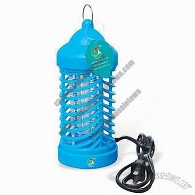 Mosquito Repellent Lamp with Plastic Body and 220 to 240 or 110V AC/50 to 60Hz Power Supply