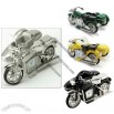 Motorbike With Sidecar Miniature Clock