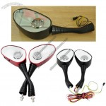 Motorcycle Rearview Mirror Speaker With Radio