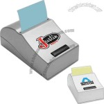 Motorized note pad dispenser. Uses 2 AA batteries