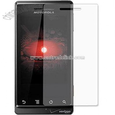 Motorola Droid A855 Clear Screen Protector