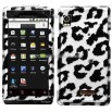Motorola Droid A855 Snow Leopard Protector Case