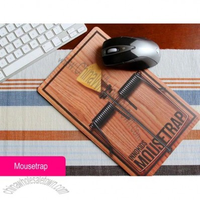 Mousetrap Pattern Mouse Pad