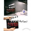 Movie/Film Action Board Clock