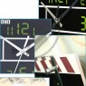 Movie Film Action Board Wall Clock