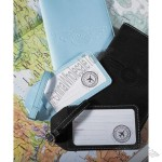 Mr. and Mrs. Luggage Tags - Honeymoon Luggage Tags