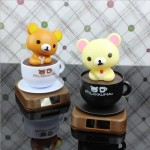 Mug Easily Bear Solar Car Decoration