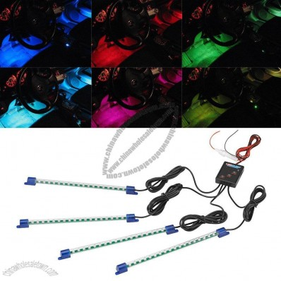 Multi-Color 7 Color LED Interior Underdash Lighting Kit