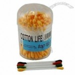 Multi-Color Sterile Cotton Swabs