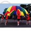 Multi-Coloured 3.5 M Kids Play Parachute