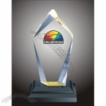 Multi Faceted Block Acrylic Award