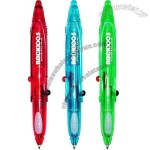 Multi Function Pen With Led Light