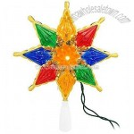 Multi Star Lighted Tree Topper