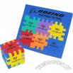 Multi color foam cube puzzle
