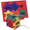 Multi-color foam puzzle forms