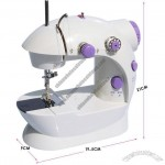 Multi-function Mini Portable Electric Sewing Machine Use Power Adapter