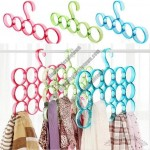 Multi-function Scarves Hanger Clothes Tie Socks Storage Holder