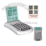 Multi-function heavy duty desk calculator