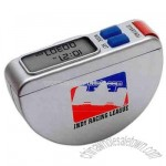 Multi function two line display pedometer