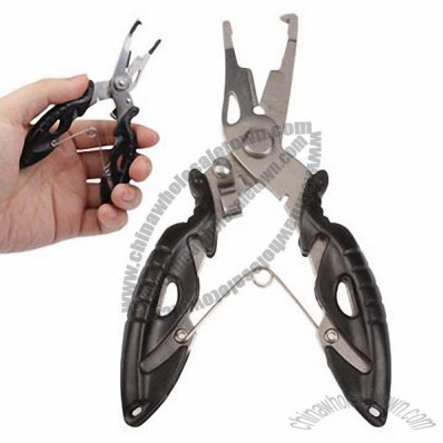 Multi-functional Stainless Steel Jaw Fishing Pliers/Scissors