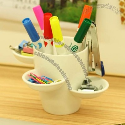 Multi-purpose Ceramic Pen Holder
