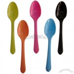 Multicolor Plastic Disposable Spoon