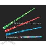 Multicolor flashing light saber