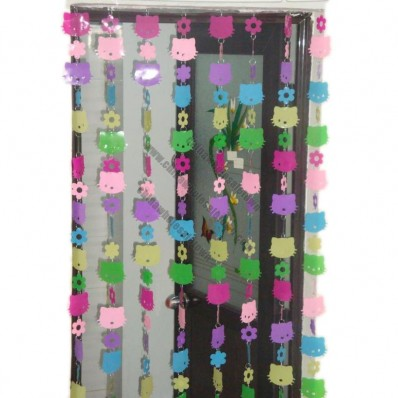 Multicolour Hello Kitty PVC Door Curtain