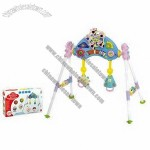 Multifunction Babies' Fitness Frame with Music Light