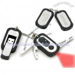 Multifunction Dog Tag Laser USB Flash Drives