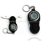 Multifunction Keychain with Compass