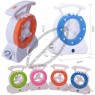 Multifunction Mini Fan With Rechargeable Emergency Light And Table Lamp