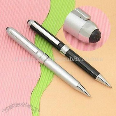 Multifunction Pen with Vibrating Massage Feature