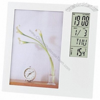 Multifunction Photo Frame Clock