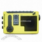 Multifunction Radio with DC and Earphone Jack