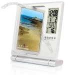 Multifunction Rotatable Digital Photo Frame Clock