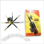 Multifunction Screwdriver with LED Light