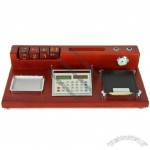 Multifunction Solid Wood Desk Gift Set for Office