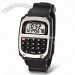 Multifunction Watch with Automatic Power Off Calculator and 8-digit Display