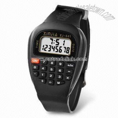 Multifunction Watch with Automatic Power Off Calculator