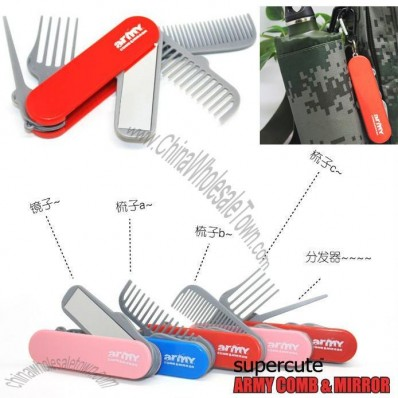 Multifunctional Beauty Tools Comb And Mirror Set