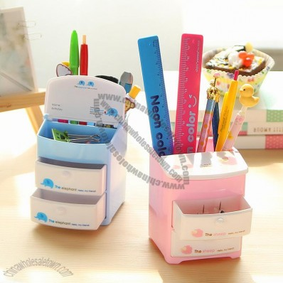 Multifunctional Desk Storage Pen Holder