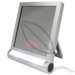 Multifunctional Sound Control Mirror Desk Clock