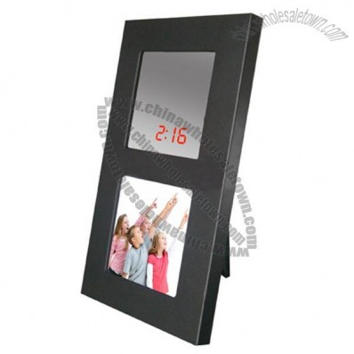 Multifunctional Sound Control Photo Frame Table Clock