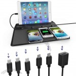 Multifunctional Universal Charger Base for iPhone, iPad,iPod, Galaxy, Note, all Android and Tablets